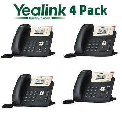 4 Yealink SIP-T21P-E2 Entry Level 2 Line IP Phone w/ HD Voice PoE 10/100  T21P E2 6938818301191   eBay
