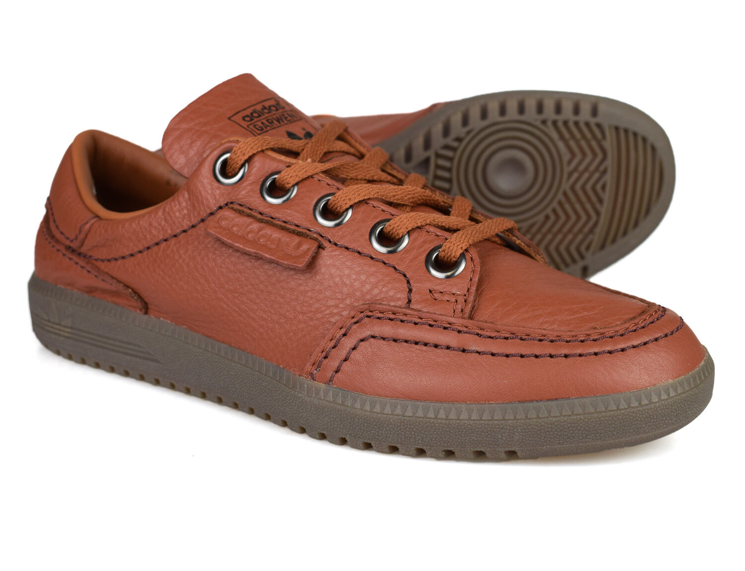 Adidas Originals SPZL Spezial Garwen Brown Leather Trainers BA7724