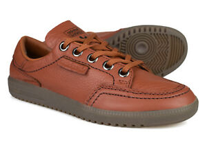 best service fd0ed a3124 Image is loading Adidas-Originals-SPZL-Spezial-Garwen-Brown -Leather-Trainers-