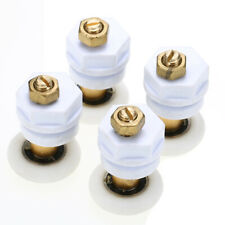 4pcs 25mm Partiality Shower Bath Door Rollers Runners Wheels Pulleys Diameter