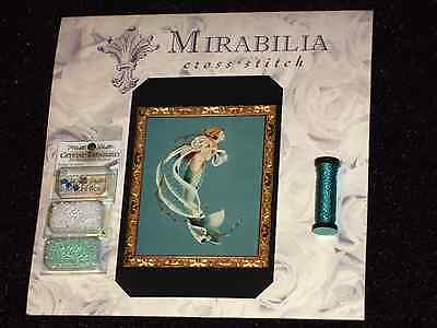 Mirabilia MD42 DEEPEST LOVE Pattern, Required Beads, Kreinik Metallic Thread