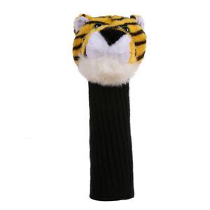 Golf-Club-Headcover-Plush-Cute-Cartoon-Tiger-Bar-Head-Protection-Covers