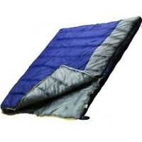 Ultracamp Large Double Sleeping Bag 3 Season, Spring, Summer, Autumn 400gsm Warm