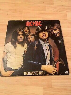 Ac/dc Highway To Hell Vinyl Record Album Atlantic 1979 | eBay