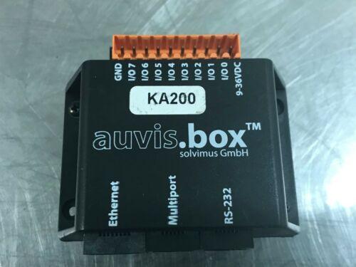 AUVIS.BOX 1006-A0B88-003 ETHERNET MODULE