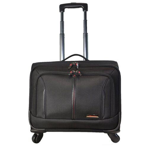 Aerolite Executive Roue Ordinateur portable bureau d/'affaires Voyage Cabine étui Mallette Sac