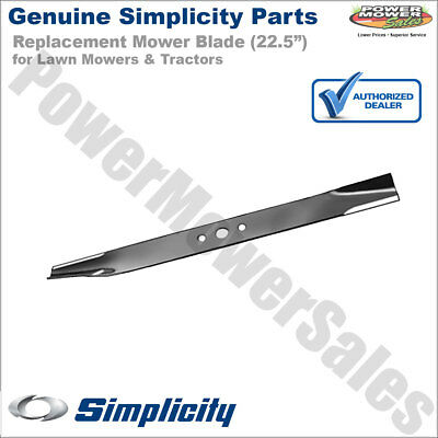 "22-1//4/"" Mower Blade Simplicity 1716695ASM Made in USA"