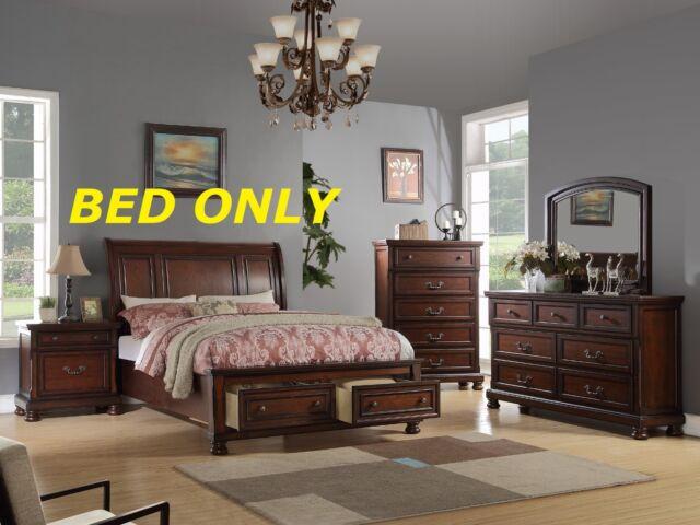 Lou Louie P S Cal King Sleigh Bed