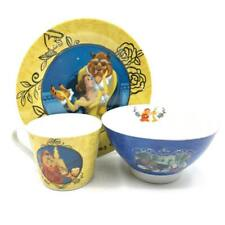 Disney Beauty u0026 The Beast Mug Plate and Bowl Dinner Gift Set Boxed New DI375  sc 1 st  eBay : lion king plate set - pezcame.com