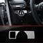 Mercedes-Benz-a-W176-B-W246-C-W204-e-W212-GLK-X204-Cubierta-de-conmutador-de-faros-Plata miniatura 1