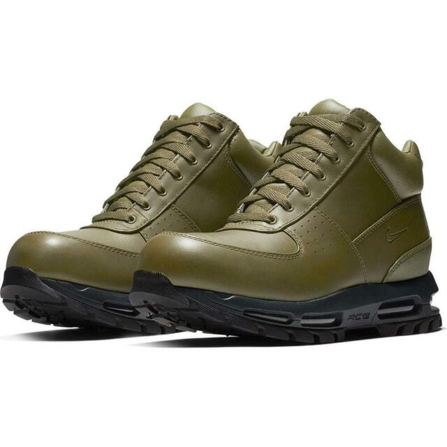 Nike Air Max Goadome OLIVE GREEN DARK BLACK 865031 303 sz 8.5 Winter Boots Snow