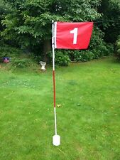 JL Golf backyard garden set Flag cup hole pin putting green stick pole