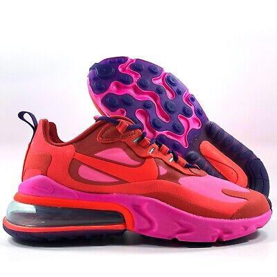 Nike W Air Max 270 React Mystic Red Bright Crimson White At6174