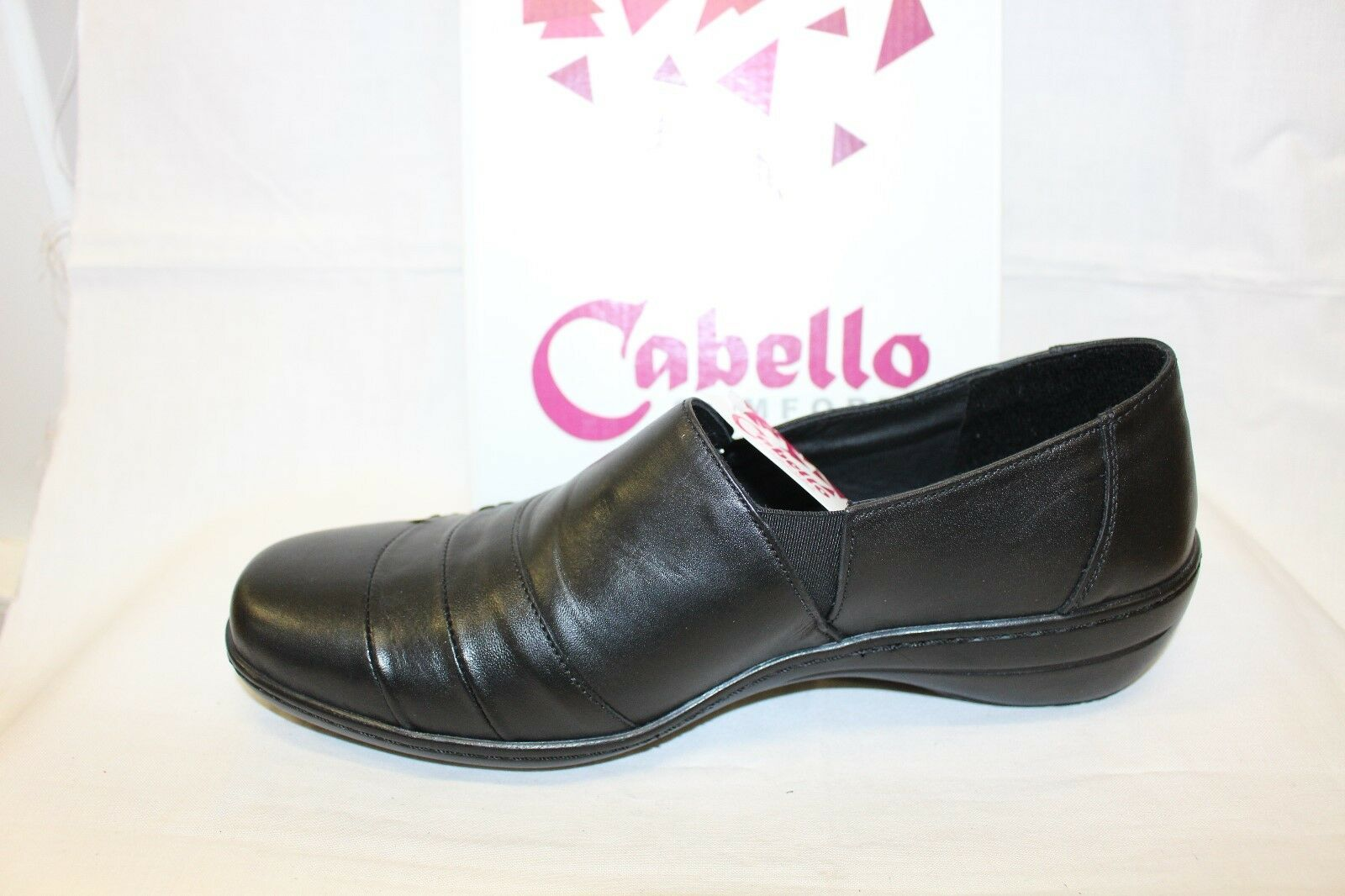LADIES SHOES/FOOTWEAR - Cabello 5067 slip on on on shoe black a25f00