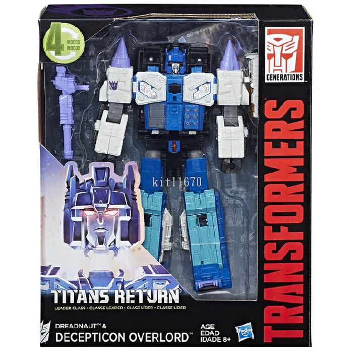 Hasbro Transformers Titans Return W3 17 Leader Overlord Dreadnaught NEW