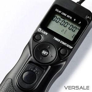 Timer-Fernbedienung-fur-Canon-EOS-1100D-700D-650D-600D-550D-RS-60E3-Ausloser