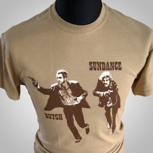 Butch-Cassidy-And-The-Sundance-Kid-Retro-Movie-T-Shirt-Newman-Vintage