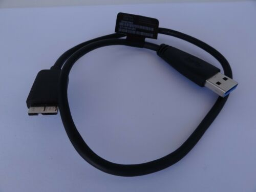 """GENUINE GoFlex USB 3.0 Cable A to Micro B 18/""""  for  WD External Hard Drive"""