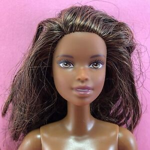 Mattel 2002 Barbie Doll Fashion Fever AA Black Curly Hair