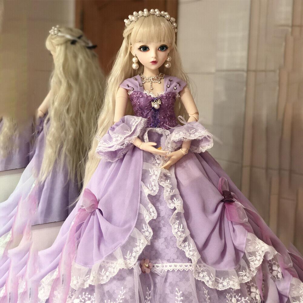 24  bjd bambola 1 3 bambole bambole bambole ragazza con abito rendere-up serie completa GIOCATTOLI 26b431