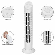 Ventilador de Torre oscilante con temporizador 3 velocidades 76 cm TVL 3546