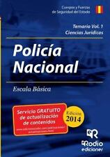 Temario Volumen 1. Policia Nacional by Avelino Cordero Pajares (2014, Paperback)