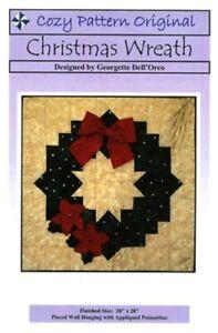 Christmas-Wreath-quilt-pattern-cozy-quilt-design