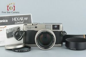 Excellent-Konica-HEXAR-RF-Limited-Edition-M-HEXANON-50mm-f-1-2-LIMITED
