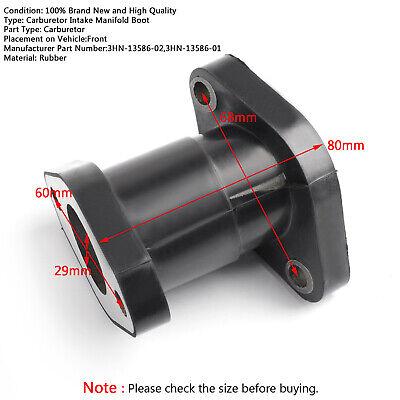 3HN-13586-01 Carburetor Intake Manifold Boot Adapter Interface For Yamaha YFM350