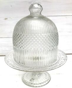 Ib-Laursen-Glasglocke-Haube-Glashaube-geriffelt-Glocke-Glas