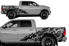 Vinyl Decal NIGHTMARE Wrap Kit for Dodge Ram 09-14 1500/2500 SHORTBOX Flat Black