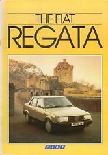 Fiat Regata 70 85 100 Comfort Super DS Weekend 1985-86 original UK Brochure