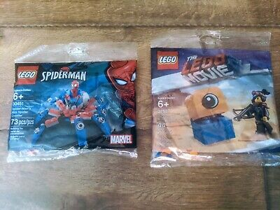 LEGO SPIDER-MAN Spider-Man's Mini Spider Crawler W//Figure 30451 LOT OF 10