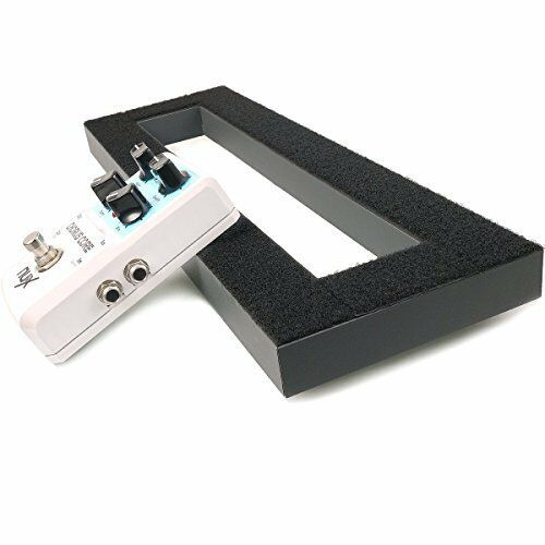NEW Mr.Power Pedalboard By Aluminium Alloy 15.7x5.1 Guitar Effect Pedal Board