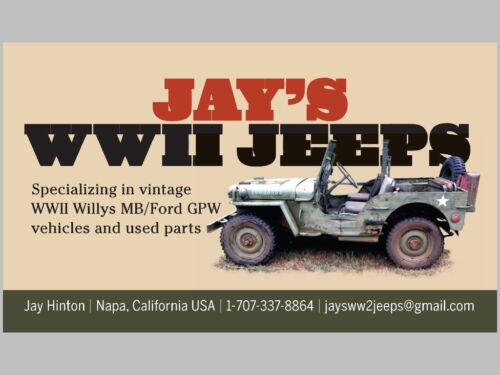 FORD GPW GPA AND WILLYS MB BRAKE AND CLUTCH PEDAL RETURN SPRINGS ONE PAIR