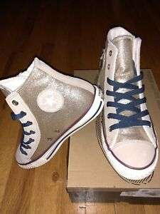 1328130d8c21c4 Image is loading Converse-Brand-New-Limited-High-Top-Golden-Cream-