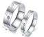 Coppia-Fedi-Fedine-Anelli-Anello-Fidanzamento-Fede-Incisioni-Love-Anniversario miniatura 5