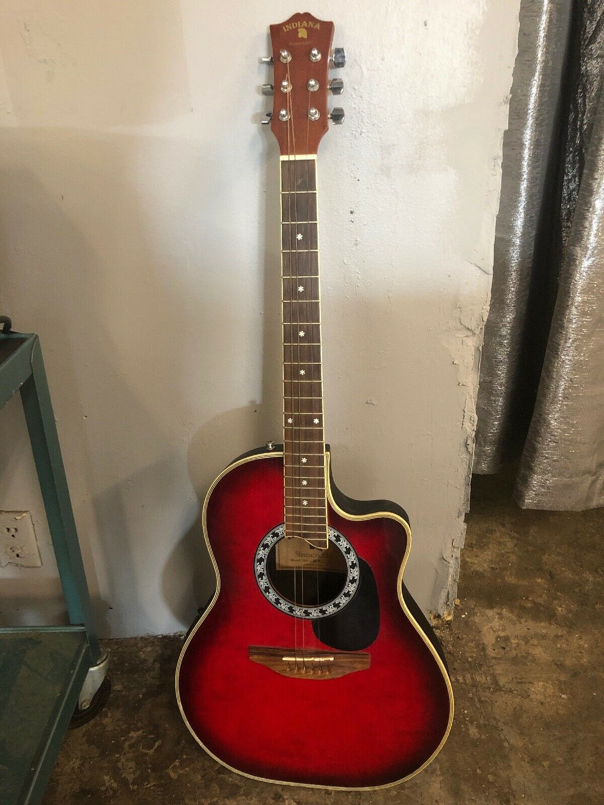 """Indiana Acoustic Guitar Shannondale Model SRB-RDS 40"""""""
