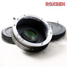 Zhongyi LENTE RIDUTTORE di focale Turbo II Adattatore Canon EOS Mount A Micro EF 4/3 MFT