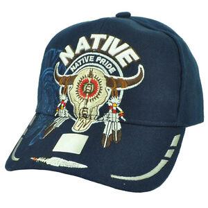 e34eeac71f100 Image is loading Native-Indian-American-Pride-Buffalo-Skull-Shadow-Feather-