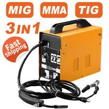 3 In1 130 Mig Welder Wire Gasless Inverter Lift Tig Arc Welding Machine