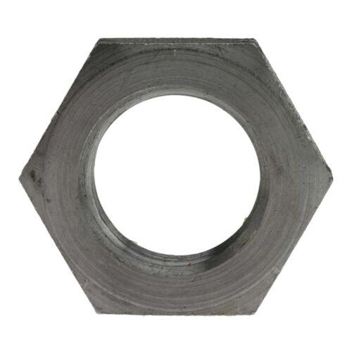5x DIN 936 Sechskantmutter niedrige Form mit Fase Feingewinde M 24x1.5 14 H bl