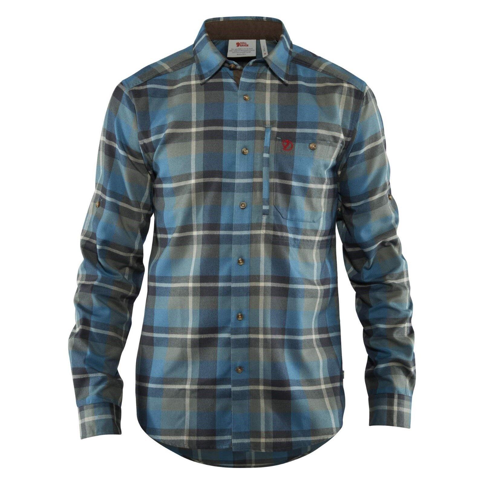 26b13df243908 Fjäll Fjällglim Langarm-Herrenhemd Funktionshemd schwarz Shirt Räven  nvnhzq3383-Hemden