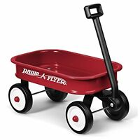 Radio Flyer Little Red Toy Wagon - For Ages 3+ - Steel Body No Scratch Edges