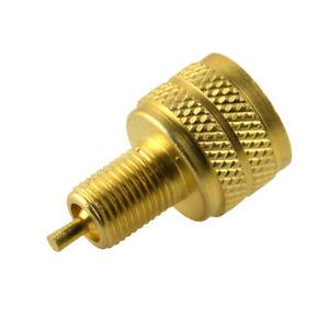 Brass External Golden Tire Bore Valve Stem Adapter Reducer 22mm