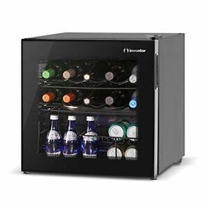 Inventor-Vino-Wine-Cooler-Fridge-49L-Glass-door