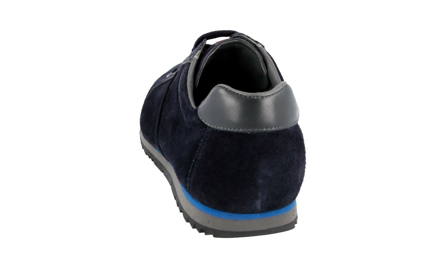 AUTH LUXURY PRADA SNEAKERS SHOES 4E2719 BLUE SUEDE NEW NEW NEW US 6.5 EU 39,5 40 b83f55