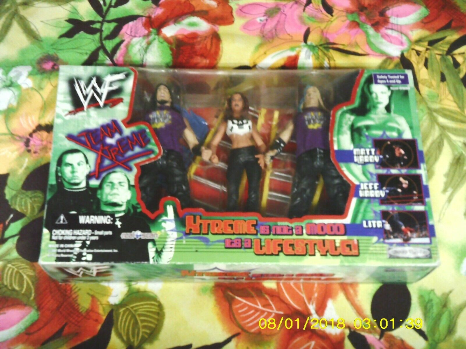 WWF MATT HARDY-LITA- JEFF HARDY BOX SET RARE
