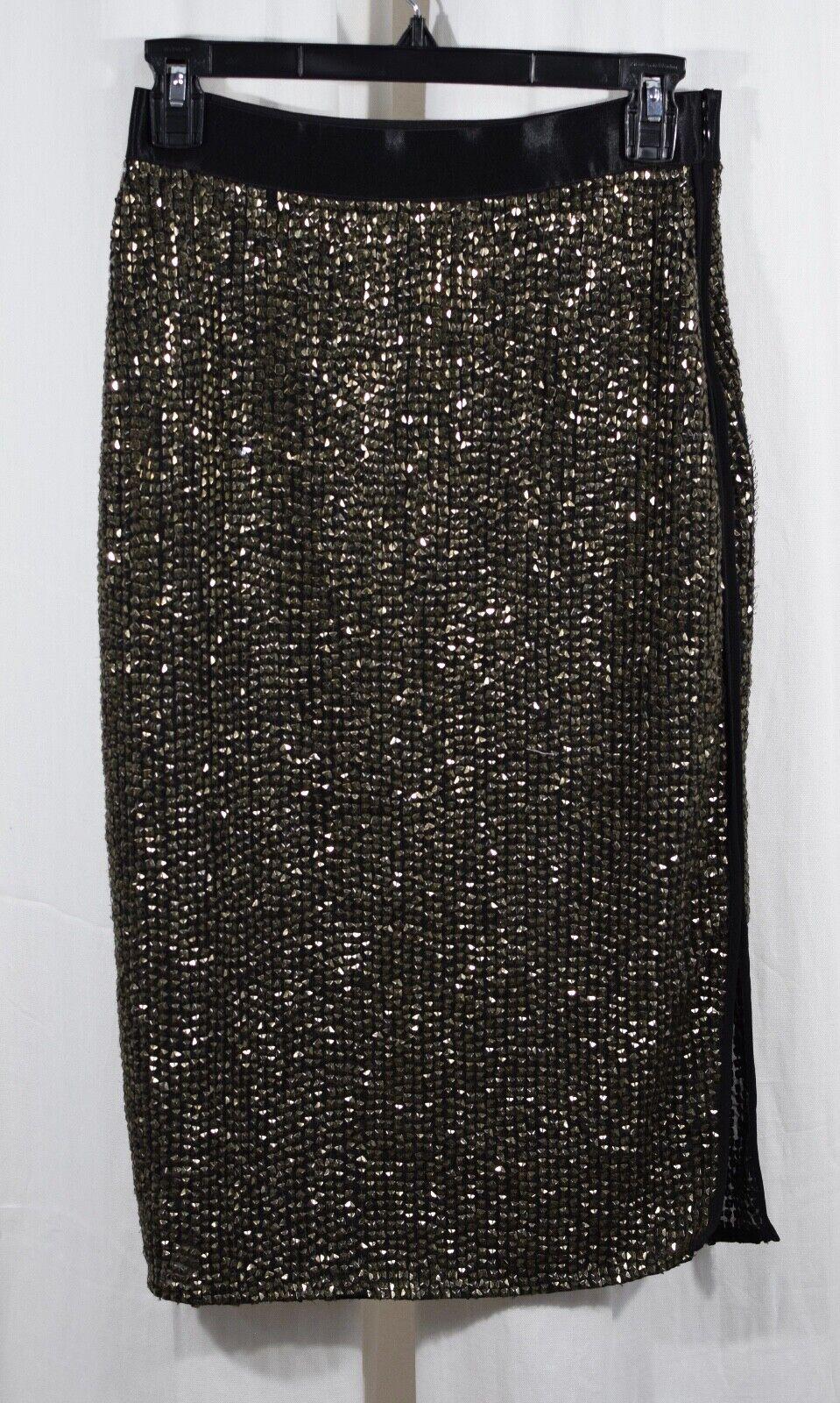 Joie Malloren Pyramid Stud Skirt Size 4
