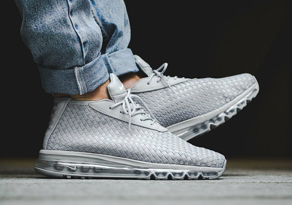 NEW MENS NIKE AIR MAX WOVEN BOOT SNEAKERS 921854 001-SIZE 8.5,13